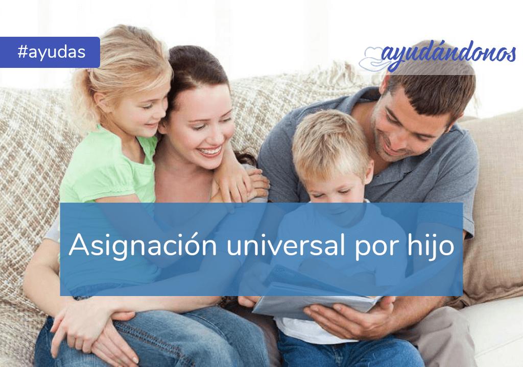 Asignación universal por hijo