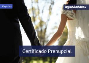 Certificado Prenupcial