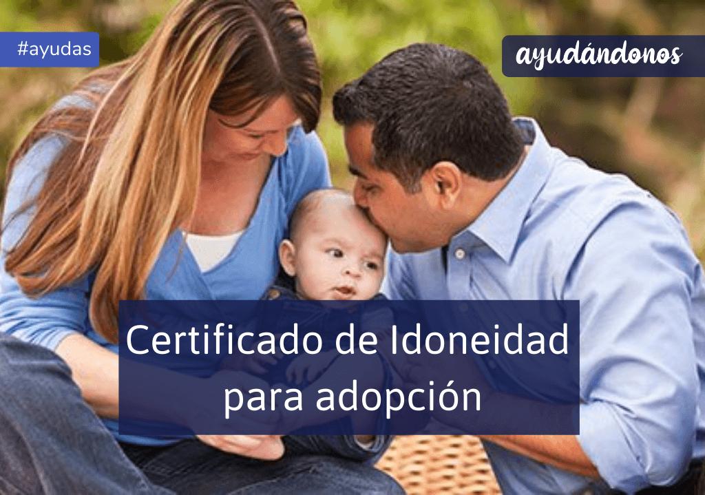 Certificado de Idoneidad para adopción