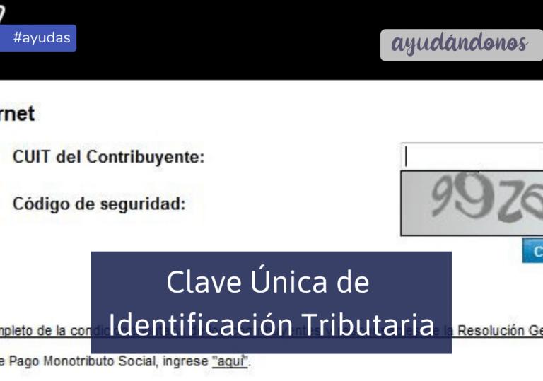 CUIT Clave Única de Identificación Tributaria