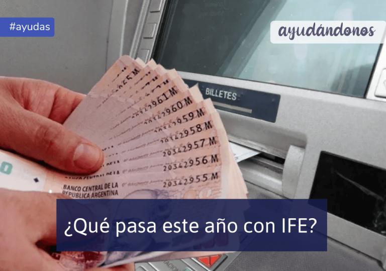 IFE Ingreso Familiar de Emergencia