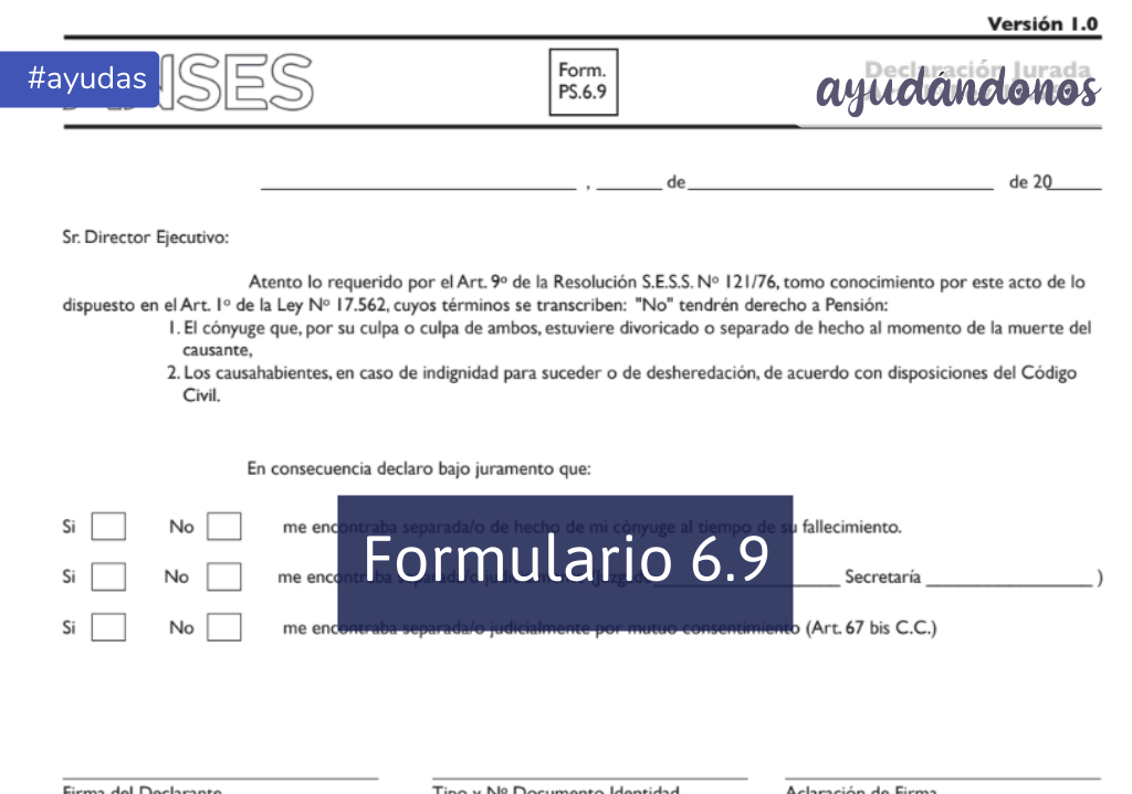 Formulario 6.9