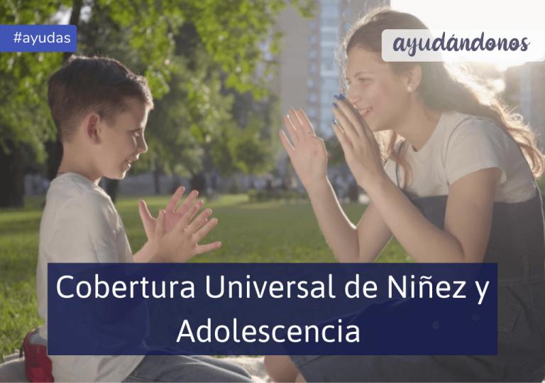cobertura universal de niñez y adolescencia