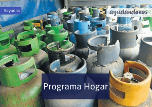 Garrafa social Programa Hogar