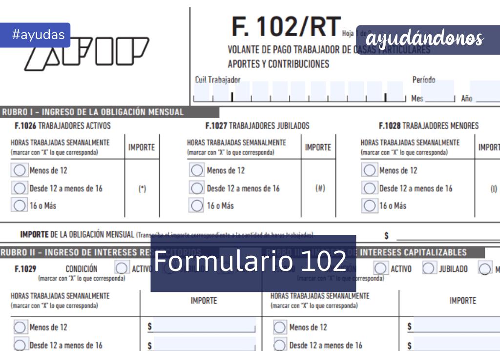 Formulario 102