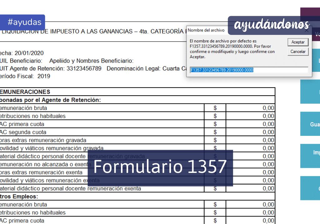 Formulario 1357