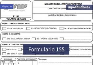Formulario 155