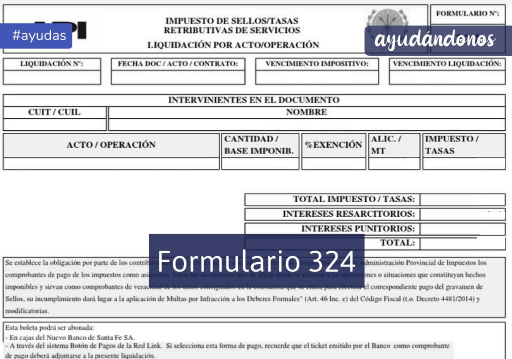 formulario 324