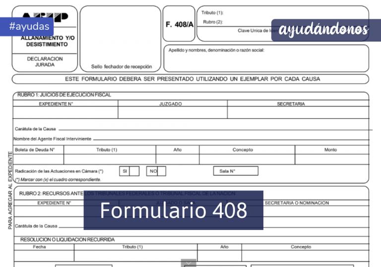 Formulario 408