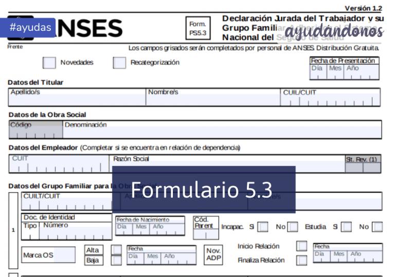 Formulario 5.3