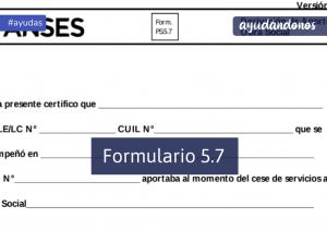 Formulario 5.7