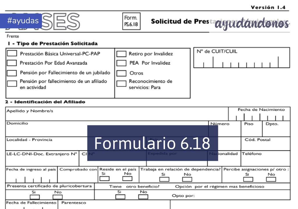 Formulario 6.18