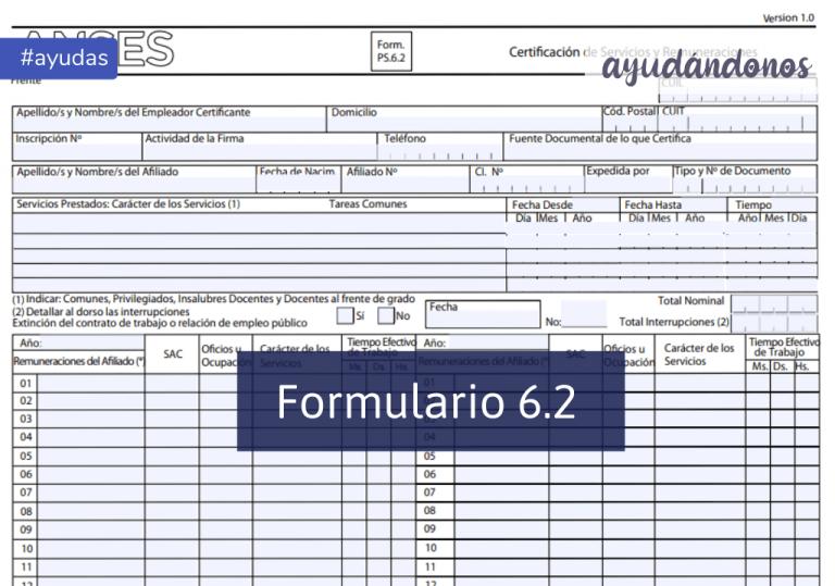 Formulario 6.2