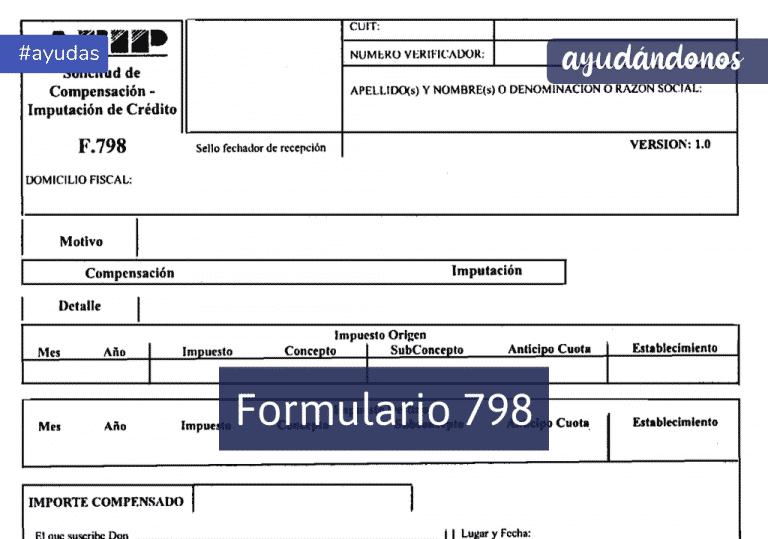 Formulario 798