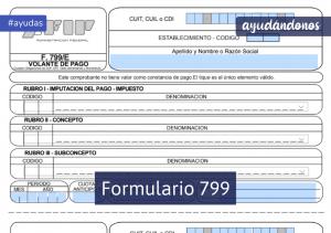 Formulario 799
