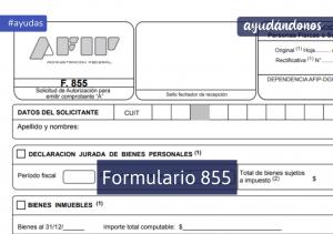 Formulario 855