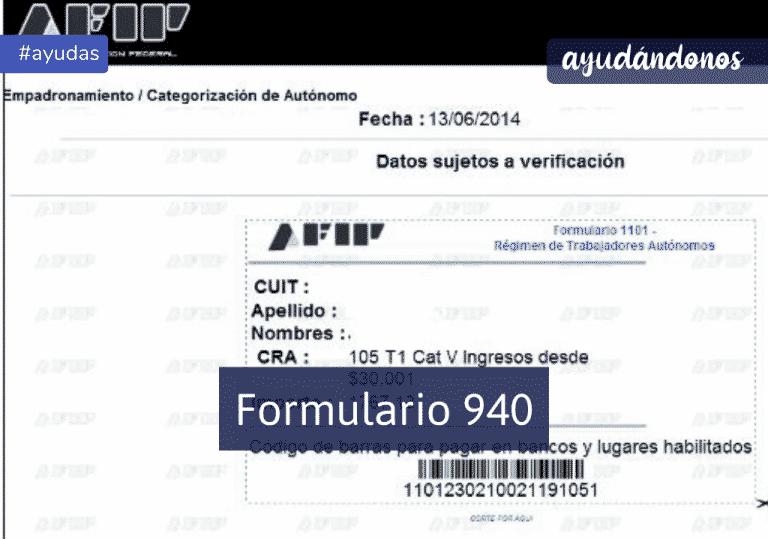 formulario 940