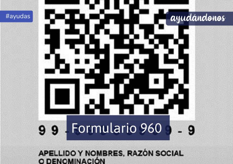 Formulario 960