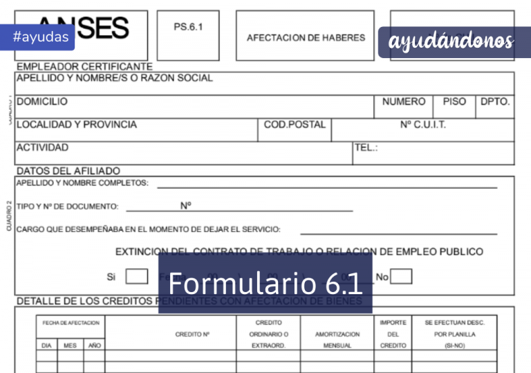 Formularios 6.1