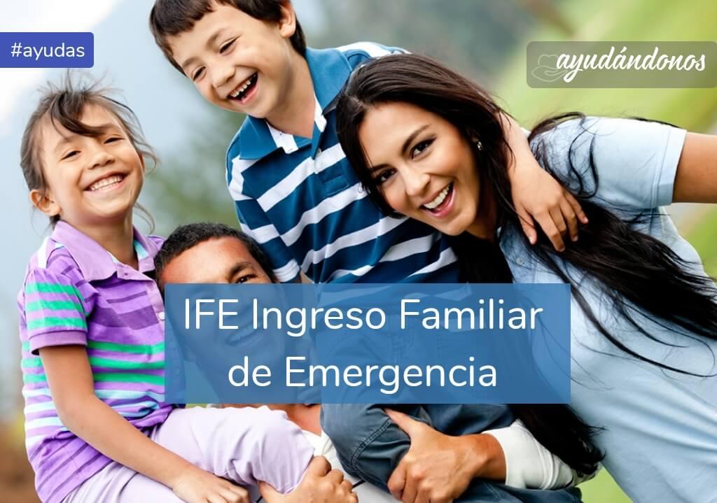 IFE ANSES Ingreso Familiar de Emergencia