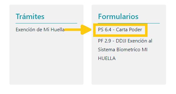 Paso 4 Formulario 6.4