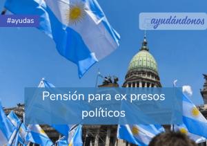 Pensión para ex presos políticos