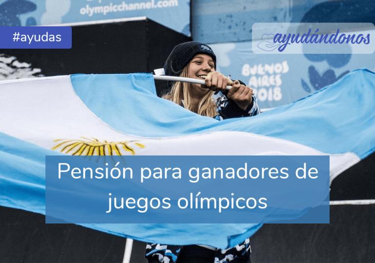 Pensión para ganadores de títulos olímpicos y paralímpicos