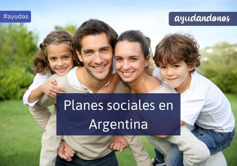Planes sociales en Argentina Anses