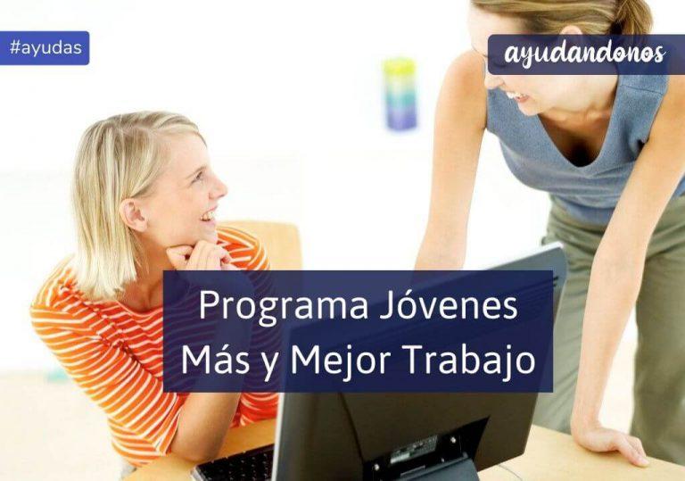 Programa Jóvenes Más y Mejor Trabajo