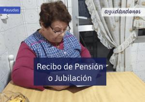 Recibo de Pensión o Jubilación