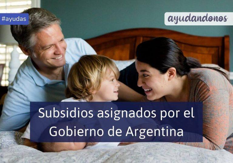 Subsidios del Estado Argentino