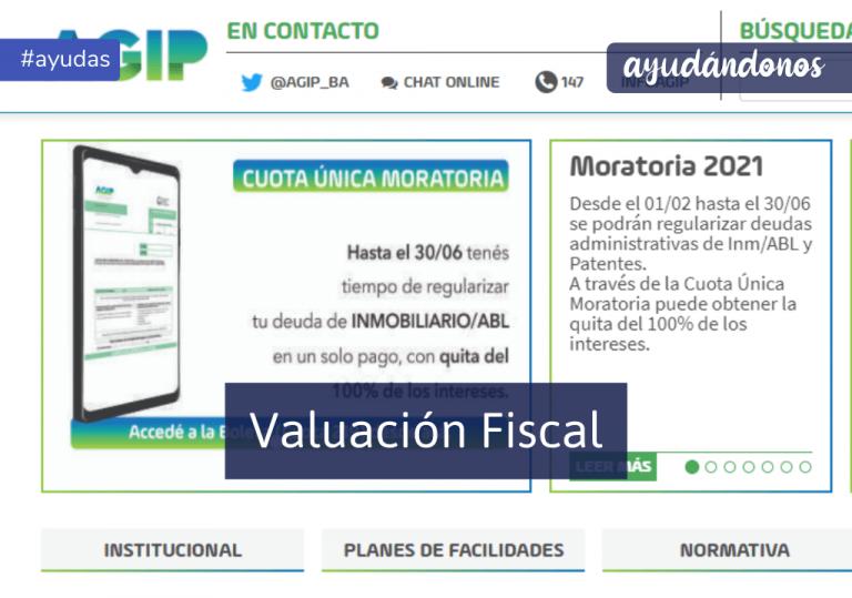 Valuación fiscal