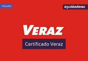 Certificado veraz
